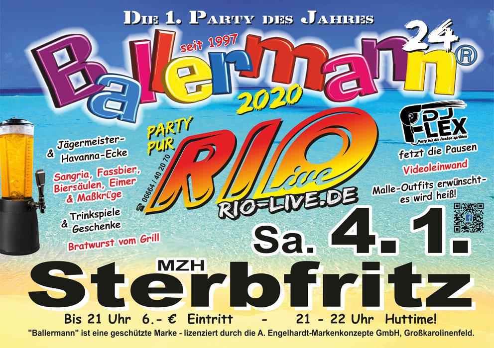 Die 24. (!) Ballermann-Party