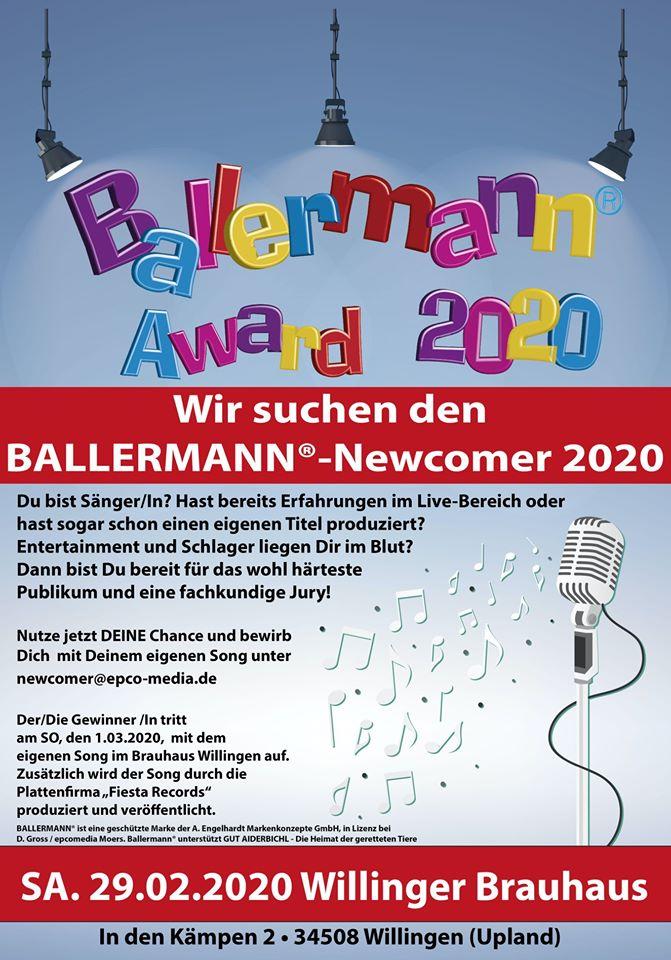 Werde BALLERMANN STAR