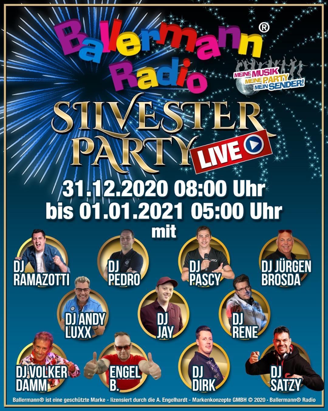 Silvesterparty XXL Bei Ballermann Radio